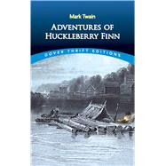 Adventures of Huckleberry Finn by Twain, Mark, 9780486280615
