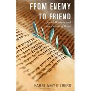 From Enemy to Friend: Jewish Wisdom and the Pursuit of Peace by Eilberg, Amy, 9781626980617