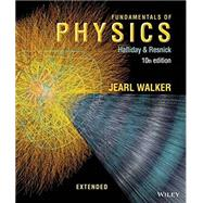 Fundamentals of Physics by Halliday; Resnick; Walker, Jearl, 9781118230619