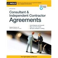 Consultant & Independent Contractor Agreements by Fishman, Stephen, 9781413320619