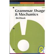 Grammar, Usage, & Mechanics Skillbook Level L
