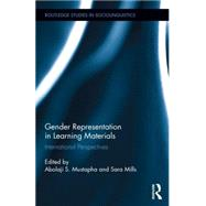 Gender Representation in Learning Materials: International Perspectives by Mustapha; Abolaji S., 9781138790629