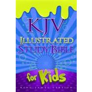 KJV Illustrated Study Bible for Kids, Blue LeatherTouch by Holman Bible Staff, 9781433600630