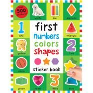 First 100 Stickers: First Numbers, Colors, Shapes by Priddy, Roger, 9780312520632