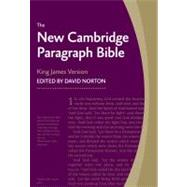 New Cambridge Paragraph Bible KJ595:T Black Calfskin: Personal size by Bible, 9780521190633