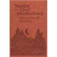 Walden and Civil Disobedience by Thoreau, Henry David, 9781626860636