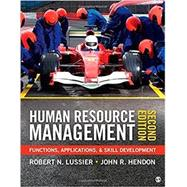Human Resource Management by Lussier, Robert N.; Hendon, John R., 9781452290638