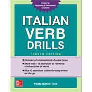 Italian Verb Drills, Fourth Edition by Nanni-Tate, Paola, 9781260010640