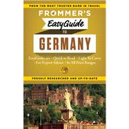 Frommer's EasyGuide to Germany by Olson, Donald; Brewer, Stephen, 9781628870640