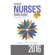 Pearson Nurse's Drug Guide 2016 by Wilson, Billie A; Shannon, Margaret; Shields, Kelly, 9780134070643