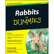 Rabbits For Dummies by Isbell, Connie; Pavia, Audrey, 9780470430644