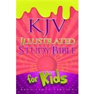 KJV Illustrated Study Bible for Kids, Pink LeatherTouch by Holman Bible Staff, 9781433600647