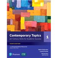 Contemporary Topics 1 with Essential Online Resources by Solorzano, Helen S; Frazier, Laurie L, 9780134400648