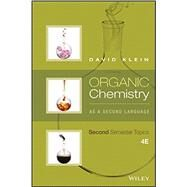 Organic Chemistry As a Second Language by Klein, David R., 9781119110651