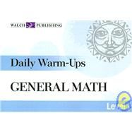 Daily Warm-ups: General Math: Level I by Pressley, Brian, 9780825160653