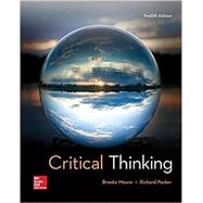 CRITICAL THINKING by Unknown, 9781260110654