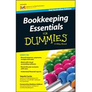 Bookkeeping Essentials for Dummies by Curtis, Veechi, 9780730310655