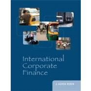 International Corporate Finance by Robin, J. Ashok, 9780073530666