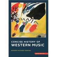 Concise History of Western Music w/ Total Access registration card by Hanning, Barbara Russano, 9780393920666