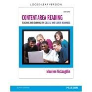 Content Area Reading: Teaching and Learning for College and Career Readiness by Maureen  McLaughlin, 9780133520668