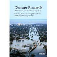 Disaster Research: Multidisciplinary and International Perspectives by de Waal; Alex, 9781138850668