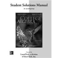 Student Solutions Manual  for College Algebra Essentials by Coburn, John; Coffelt, Jeremy, 9780077340674