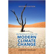 Introduction to Modern Climate Change by Dessler, Andrew, 9781107480674
