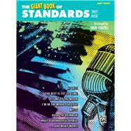 The Giant Book of Standards Sheet Music: Easy Piano by Coates, Dan (ADP), 9781470610678