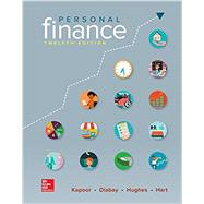 Loose Leaf for Personal Finance by Kapoor, Jack; Dlabay, Les; Hughes, Robert J.; Hart, Melissa, 9781259720680