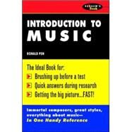 Schaum's Outline of Introduction To Music by Pen, Ronald, 9780070380684