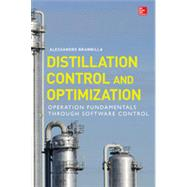 Distillation Control & Optimization: Operation Fundamentals through Software Control by Brambilla, Alessandro, 9780071820684