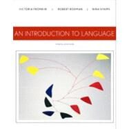 An Introduction to Language by Fromkin, Victoria; Rodman, Robert; Hyams, Nina, 9781133310686