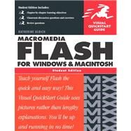 Macromedia Flash MX for Windows and Macintosh: Visual QuickStart Guide, Student Edition by Ulrich, 9780321150691