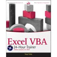 Excel VBA 24-Hour Trainer by Urtis, Tom, 9780470890691