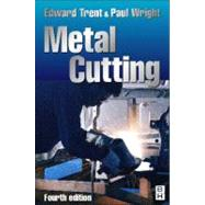 Metal Cutting by Wright; Trent, 9780750670692