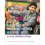 Strategies for Including Children with Special Needs by Klein; Cook; Richardson-Gibbs, 9781305960695