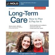 Long-term Care: How to Plan & Pay for It by Matthews, Joseph, 9781413320695