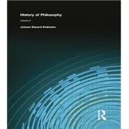 History of Philosophy: Volume II by Erdmann, Johann Eduard, 9781138870697