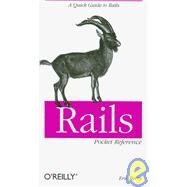 Rails Pocket Reference by Berry, Eric, 9780596520700