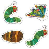The Very Hungry Caterpillar 45th Anniversary Cut-outs by Carle, Eric; Carson-Dellosa Publishing Company, Inc., 9781483800707