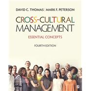 Cross-Cultural Management by Thomas, David C.; Peterson, Mark F., 9781506340708