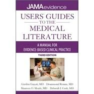 Users' Guides to the Medical Literature: A Manual for Evidence-Based Clinical Practice, 3E by Guyatt, Gordon, 9780071790710
