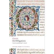 On Obligations De Officiis by Cicero; Walsh, P. G., 9780199540716