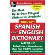 Harrap's Spanish and English Dictionary by Harrap's, 9780071440721