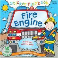 Sticker Playbook - Fire Engine by Abbott, Simon, 9781782090724