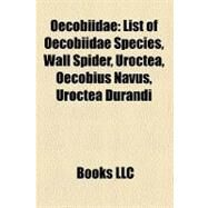 Oecobiidae by , 9781158440726
