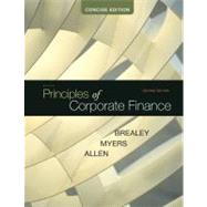 Principles of Corporate Finance, Concise by Brealey, Richard; Myers, Stewart; Allen, Franklin, 9780073530741