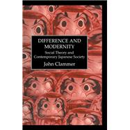 Difference & Modernity by Clammer, 9781138990746