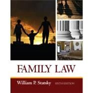 Family Law by Statsky, William P., 9781435440746