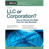 LLC or Corporation? by Mancuso, Anthony, 9781413320749